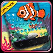 Animated Crown Fish Keyboard Theme