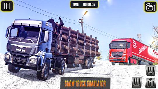 Indian Truck Driver Cargo: Free Transporter Duty 4