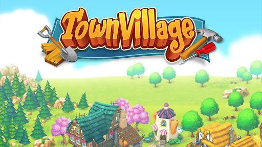Town Village: Farm, Build, Trade, Harvest City  Paidproapk.com 1