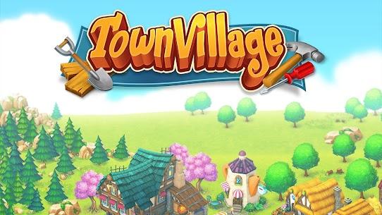 Town Village  Farm, Build, Trade, Harvest City Apk Download 2021 3