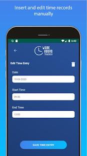 労働時間トラッカー-労働時間追跡