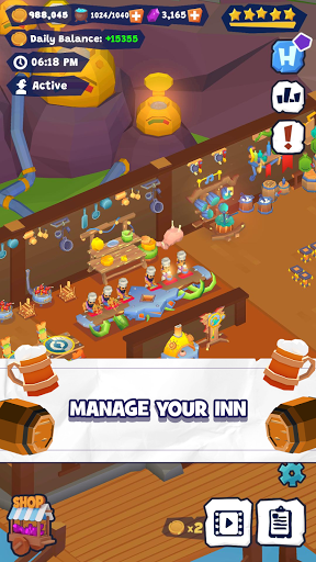 Idle Inn Tycoon screenshots 1