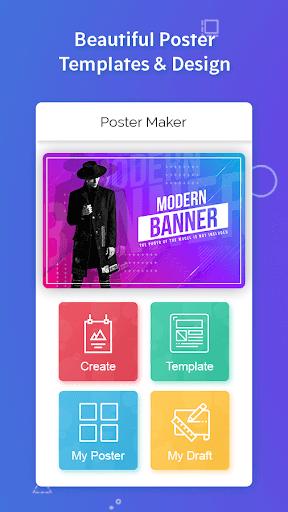 Poster Maker, Flyers, Banner, Logo Ads Page Design  Screenshots 4