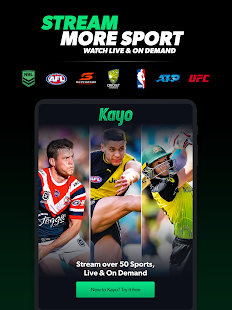 Kayo Sports - for Android TV screenshots 8