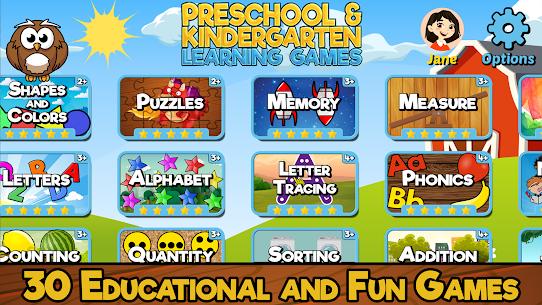 Free Preschool and Kindergarten Learning Games 3