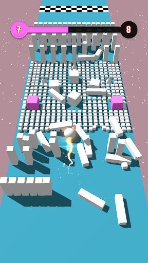 Code Triche Color Bumb Cross ball crush  game bump up the jump (Astuce) APK MOD screenshots 5