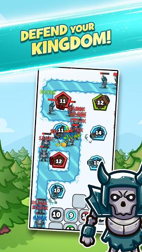 Merge Kingdoms - Tower Defense apklade screenshots 2
