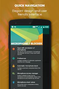 Microphone Blocker PRO MOD APK by FRENZYCODERS 3