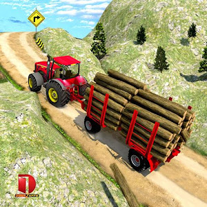 Drive Tractor trolley Offroad Cargo Free 3D Games