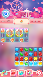 Candy Go Round – #1 Free Candy Puzzle Match 3 Game  (MOD, Unlimited Money) 3