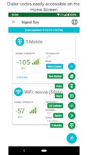 Signal Spy Pro v1.9.9.8 MOD APK – Monitor Signal Strength & Data Usage 2