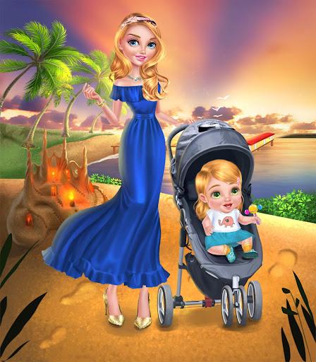 Babysitter & Baby - Beach Day 1.3 Screenshots 6