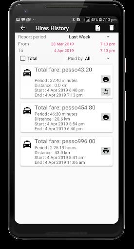 TAXImet - Taximeter  Screenshots 5