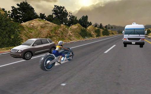 Racing Girl 3D Apkfinish screenshots 4