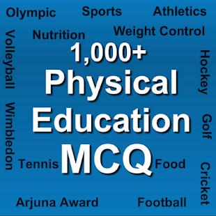 Physical education MCQ