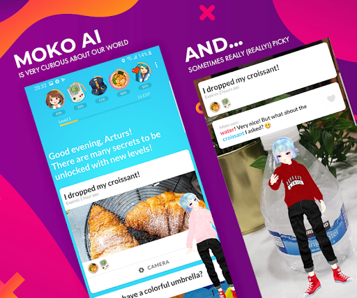 Moko AI - Virtual Friend apktreat screenshots 2