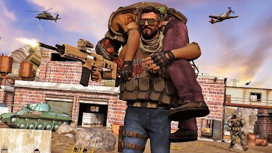 Army shooter Games: Real Commando Games APK + MOD (Money) 5