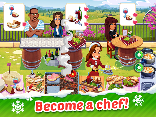 Delicious World - Cooking Restaurant Game apkdebit screenshots 9