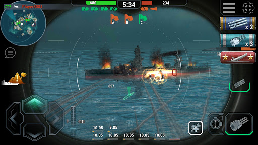 Warships Universe: Naval Battle  screenshots 2