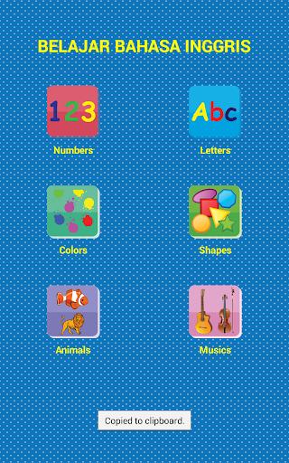 Game Edukasi Anak Lengkap  screenshots 1