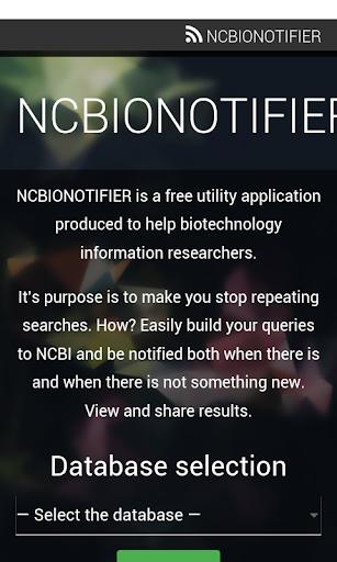 ncbionotifier screenshot 1