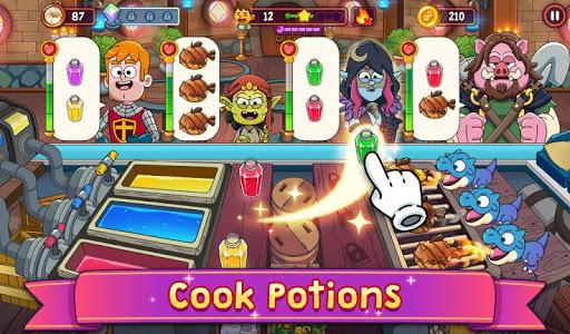 Potion Punch 2: Fun Magic Restaurant Cooking Games android2mod screenshots 17
