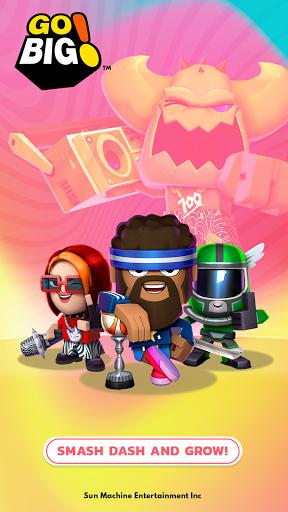 Go Big! - Smash Dash & Grow Battle Royale Game screenshots 1