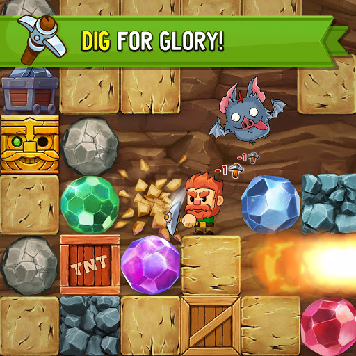 Dig Out! - Gold Digger Adventure  screenshots 1