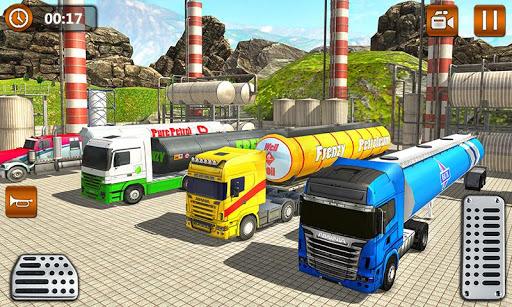 Offroad Oil Tanker Truck Transport Driver  Screenshots 5