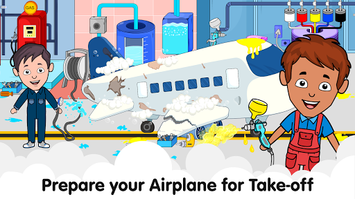 My Airport Town: Kids City Airplane Games for Free 1.6.1 Screenshots 23