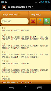 Word Expert - French (for SCRABBLE) 3.7.1 screenshots 4
