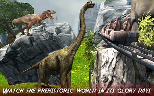 Real Dinosaur RollerCoaster VR apktram screenshots 7
