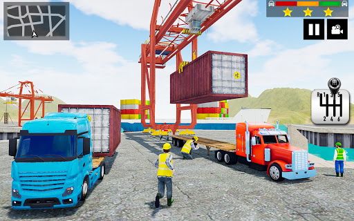 Cargo Delivery Truck Parking Simulator Games 2020 1.31 screenshots 7