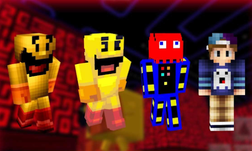 Pac-Mod Pacman Mod for Minecraft PE Game Hack Android and iOS 1