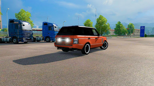 Luxury Prado Jeep Spooky Stunt Parking Range Rover 0.18 screenshots 2