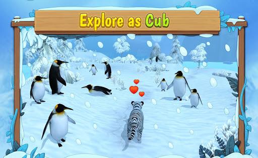 White Tiger Family Sim Online - Animal Simulator  Screenshots 4
