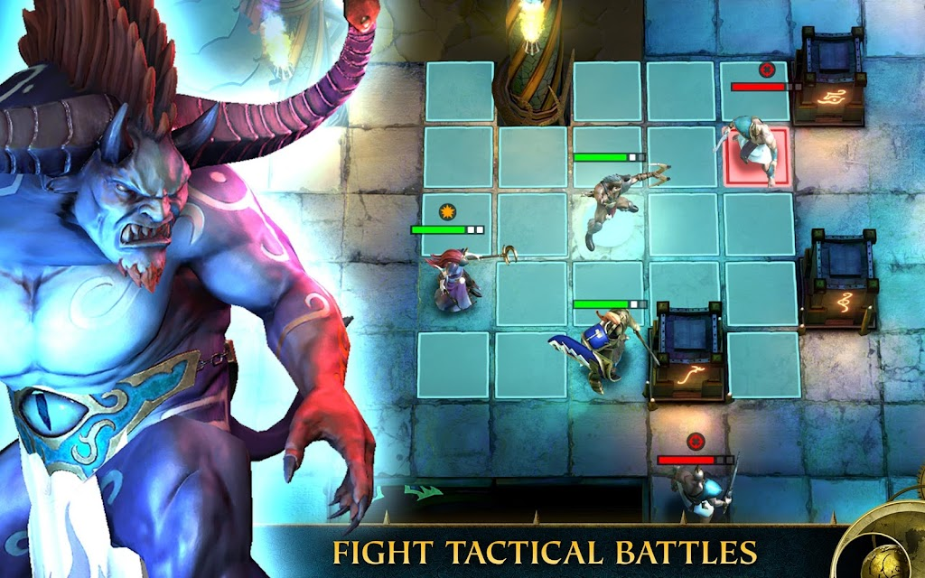 Warhammer Quest: Silver Tower -Turn Based Strategy poster 8