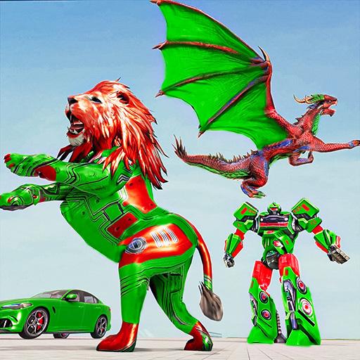 Dragon robot bil spil - Robot spil