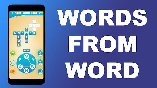 Bir kelimeden kelimeler Kelime bul Bulmacalar Full Apk İndir 6
