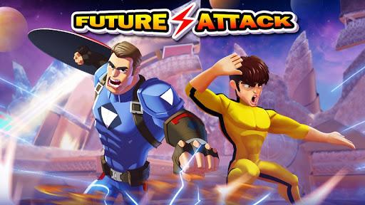 Superhero Captain X vs Kungfu Lee apkpoly screenshots 8
