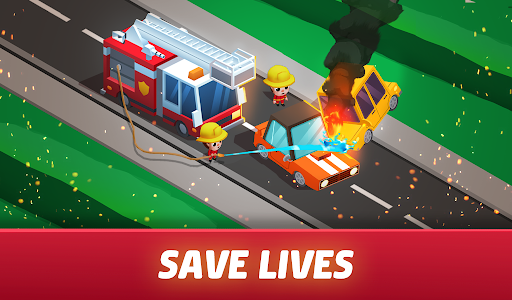 Idle Firefighter Tycoon - Fire Emergency Manager 0.14 screenshots 18