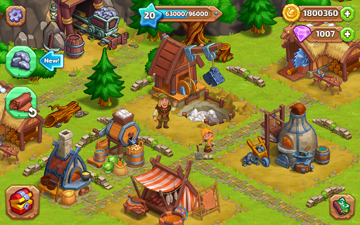 North Dragon Island - build Vikings Farm  screenshots 21