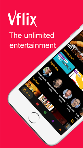 Vflix: Stream Live Tv, Movies, TV Shows And More  screen 0