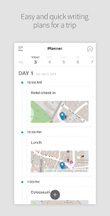 DAILY TRIP - Travel Expense, Planner, Diary