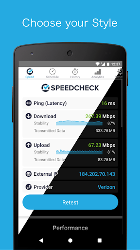 Simple Speedcheck android2mod screenshots 4