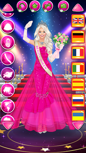 Beauty Queen Dress Up - Star Girl Fashion 1.2 Screenshots 7