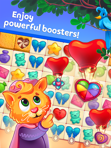 Sweet Hearts - Cute Candy Match 3 Puzzle  screenshots 7