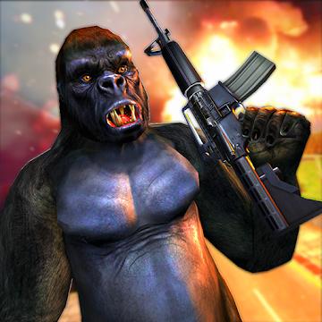 Imágen 1 de Ataque de monos enojados guerra de supervivencia para android
