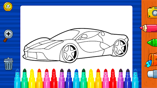 Free Learn Coloring amp  Drawing Car Games for Kids NEW 2021 **** 1