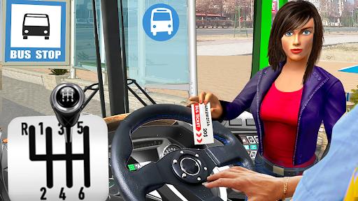 Modern Bus Simulator City Drive - Bus Parking Game  screenshots 1